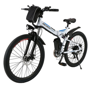ANCHEER 26 Inch Foldable Electric Mountain Bike 36V