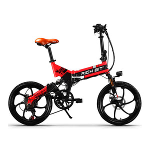RichBit´s big 48V 8Ah Battery Folding Electric Bicycle