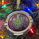 Alien Encounter Holiday Ornament