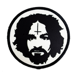 Charles Manson Iron-On Patch - UNMASKED Horror & Punk Patches and Decor