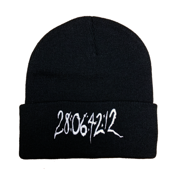 28064212 Donnie Darko Embroidered Beanie - UNMASKED