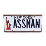 Assman Enamel Pin - UNMASKED Horror & Punk Patches and Decor