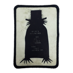 The Babadook Iron-On Patch - UNMASKED Horror & Punk Patches and Decor