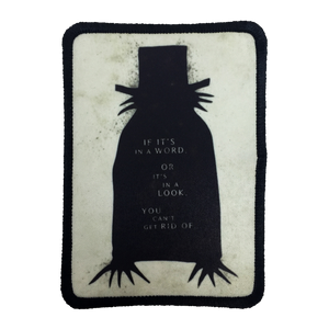 The Babadook Iron-On Patch - UNMASKED