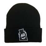 The Babadook Embroidered Beanie - UNMASKED Horror & Punk Patches and Decor