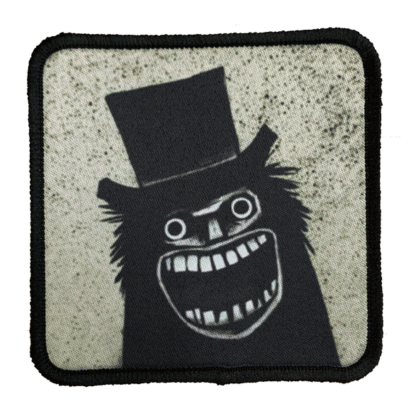 Mr. Babadook Iron-On Patch - UNMASKED Horror & Punk Patches and Decor