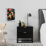 Bad Taste Drink Coaster - UNMASKED Horror & Punk Patches and Decor