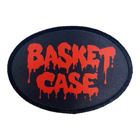 Basket Case Iron-On Patch - UNMASKED Horror & Punk Patches and Decor
