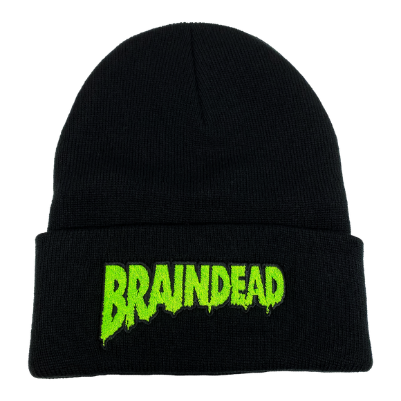Braindead Embroidered Beanie