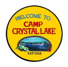 Load image into Gallery viewer, Camp Crystal Lake Phone Grip - UNMASKED Horror & Punk Patches and Decor