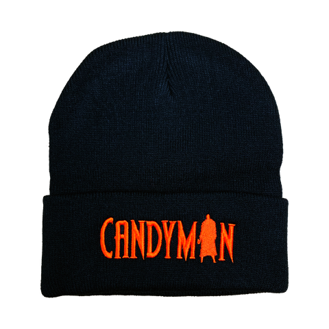 Candyman Embroidered Beanie - UNMASKED Horror & Punk Patches and Decor