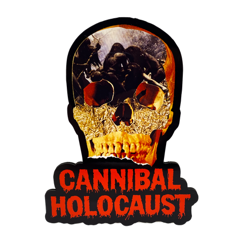 Cannibal Holocaust Mini Wall Hanger - UNMASKED Horror & Punk Patches and Decor