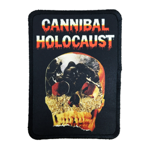 Cannibal Holocaust Iron-On Patch - UNMASKED