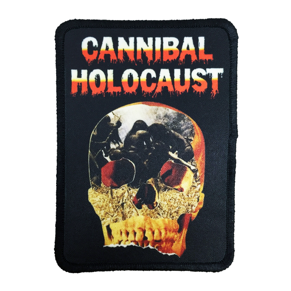 Cannibal Holocaust Iron-On Patch - UNMASKED Horror & Punk Patches and Decor