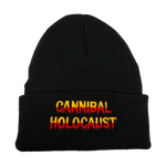 Cannibal Holocaust Embroidered Beanie - UNMASKED Horror & Punk Patches and Decor