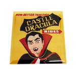Castle Dracula Magnet - UNMASKED Horror & Punk Patches and Decor