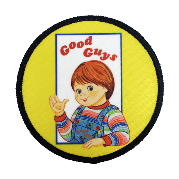 Child's Play Iron-On Patch - UNMASKED Horror & Punk Patches and Decor