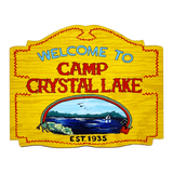 Camp Crystal Lake Mini Wall Hanger - UNMASKED Horror & Punk Patches and Decor
