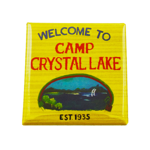 Camp Crystal Lake Magnet - UNMASKED