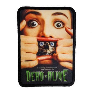 Dead Alive Iron-On Patch - UNMASKED Horror & Punk Patches and Decor