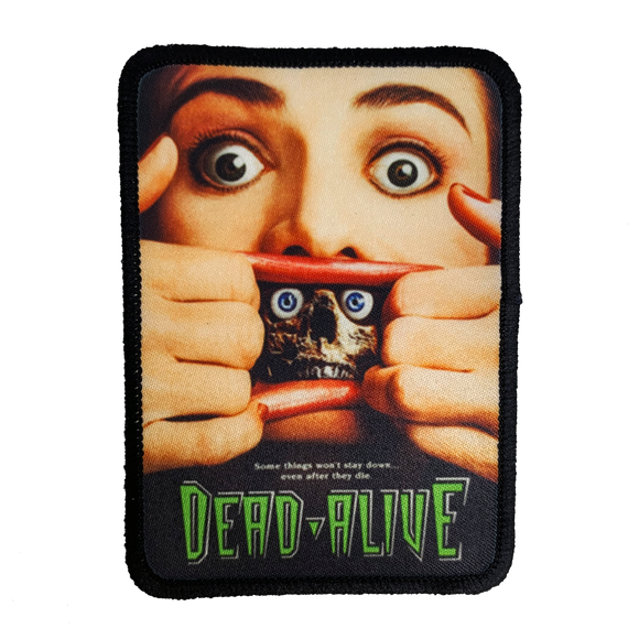 Dead Alive Iron-On Patch