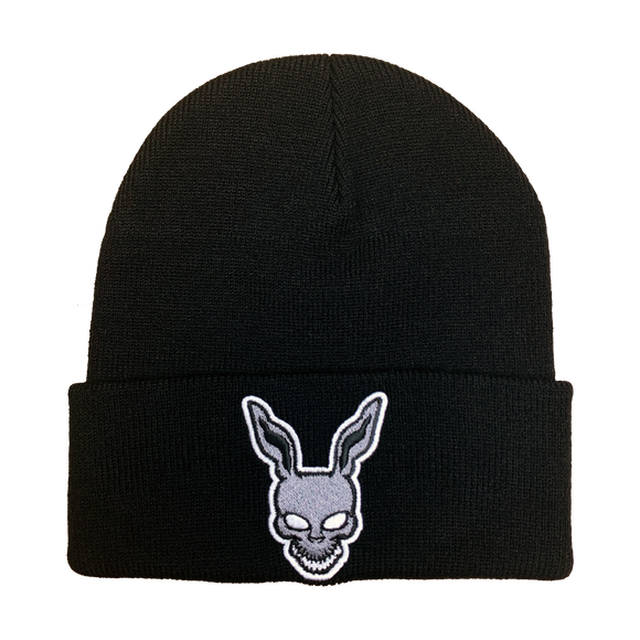 Donnie Darko Embroidered Beanie - UNMASKED Horror & Punk Patches and Decor