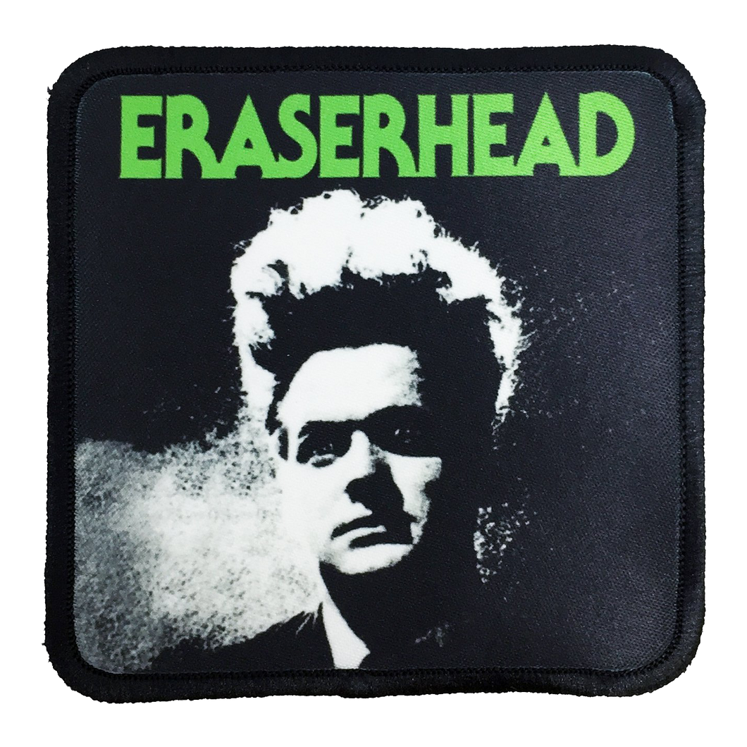 Eraserhead Iron-On Patch - UNMASKED Horror & Punk Patches and Decor