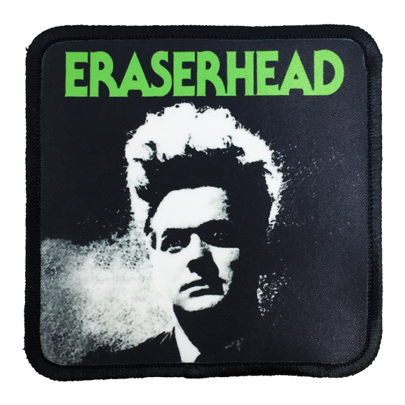 Eraserhead Iron-On Patch - UNMASKED