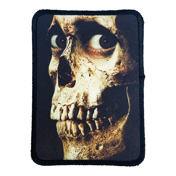 Evil Dead 2 Iron-On Patch - UNMASKED Horror & Punk Patches and Decor