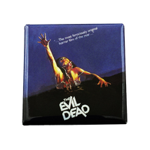 Load image into Gallery viewer, Evil Dead Magnet - UNMASKED Horror & Punk Patches and Decor