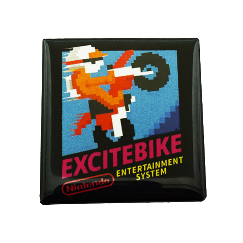 Excitebike Magnet - UNMASKED Horror & Punk Patches and Decor