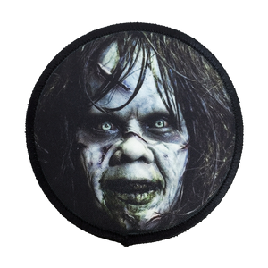 The Exorcist Regan Iron-On Patch - UNMASKED Horror & Punk Patches and Decor
