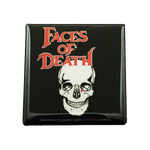 Faces of Death Magnet - UNMASKED Horror & Punk Patches and Decor