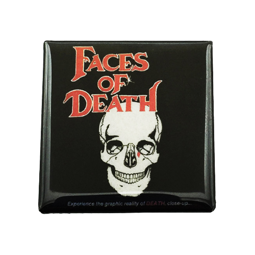 Faces of Death Magnet - UNMASKED