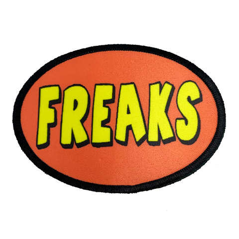 Freaks Iron-On Patch - UNMASKED Horror & Punk Patches and Decor