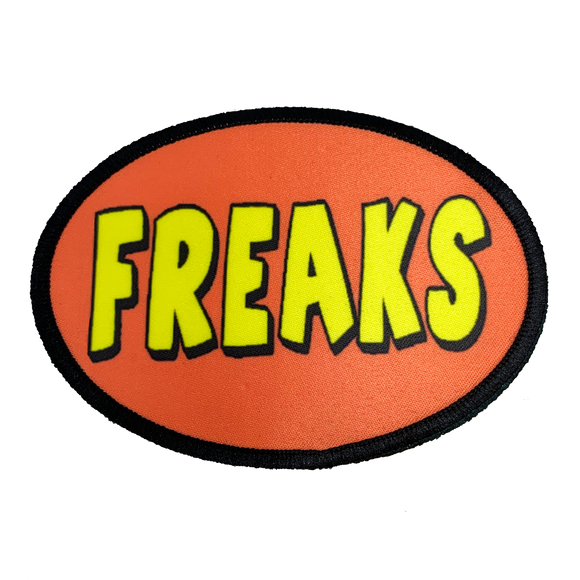 Freaks Iron-On Patch - UNMASKED