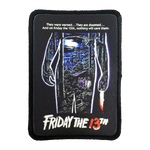 Friday the 13th Iron-On Patch - UNMASKED Horror & Punk Patches and Decor