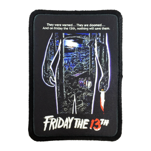Friday the 13th Iron-On Patch - UNMASKED