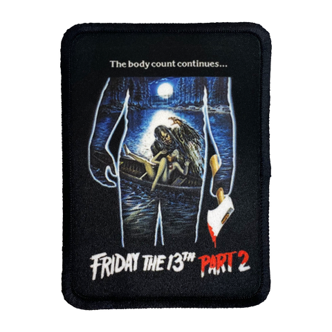Friday the 13th Part 2 Iron-On Patch