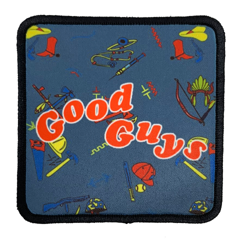 Good Guys Iron-On Patch - UNMASKED Horror & Punk Patches and Decor
