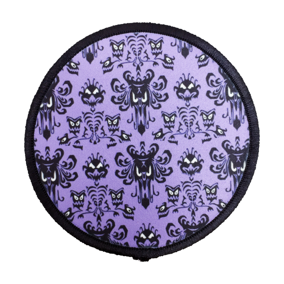 Haunted Mansion Iron-On Patch - UNMASKED Horror & Punk Patches and Decor