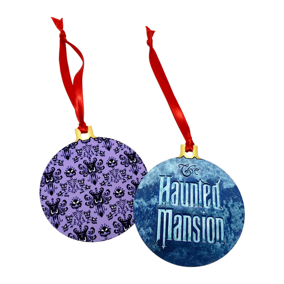 Haunted Mansion 2-Sided Holiday Ornament