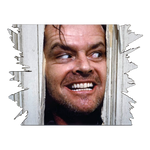 The Shining Here's Johnny Mini Wall Hanger - UNMASKED Horror & Punk Patches and Decor
