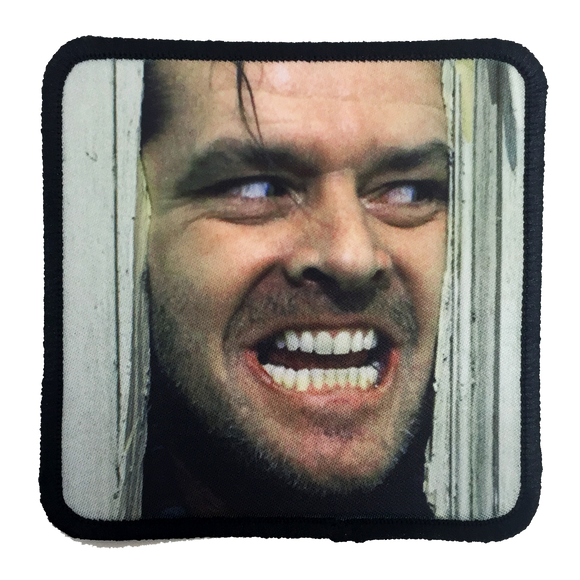 The Shining Here's Johnny Iron-On Patch - UNMASKED Horror & Punk Patches and Decor