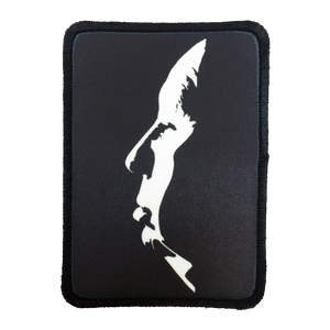 Alfred Hitchcock Iron-On Patch - UNMASKED