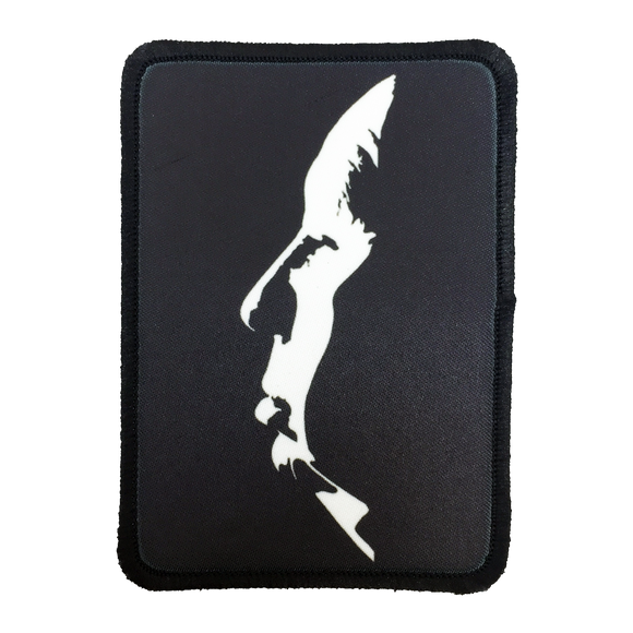 Alfred Hitchcock Iron-On Patch - UNMASKED Horror & Punk Patches and Decor