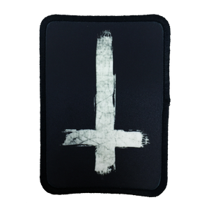 Inverted Cross Iron-On Patch - UNMASKED