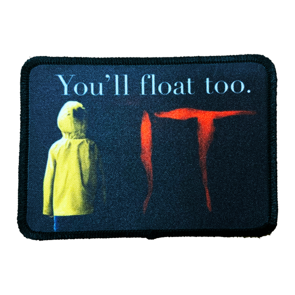 It Movie 2017 Iron-On Patch - UNMASKED Horror & Punk Patches and Decor