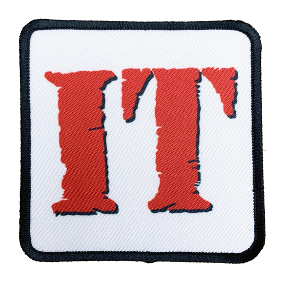 IT Movie Iron-On Patch - UNMASKED Horror & Punk Patches and Decor