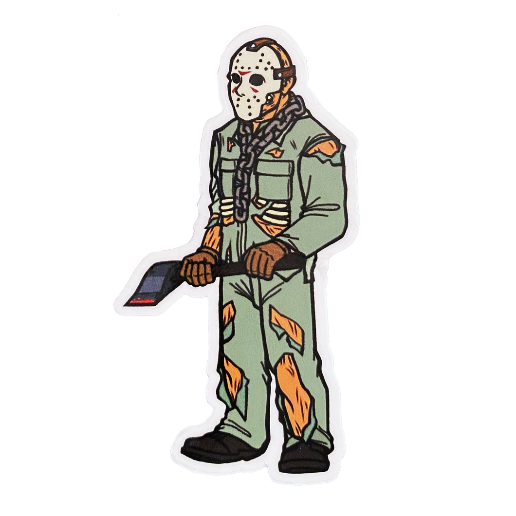 Jason Voorhees Part 7 Sticker